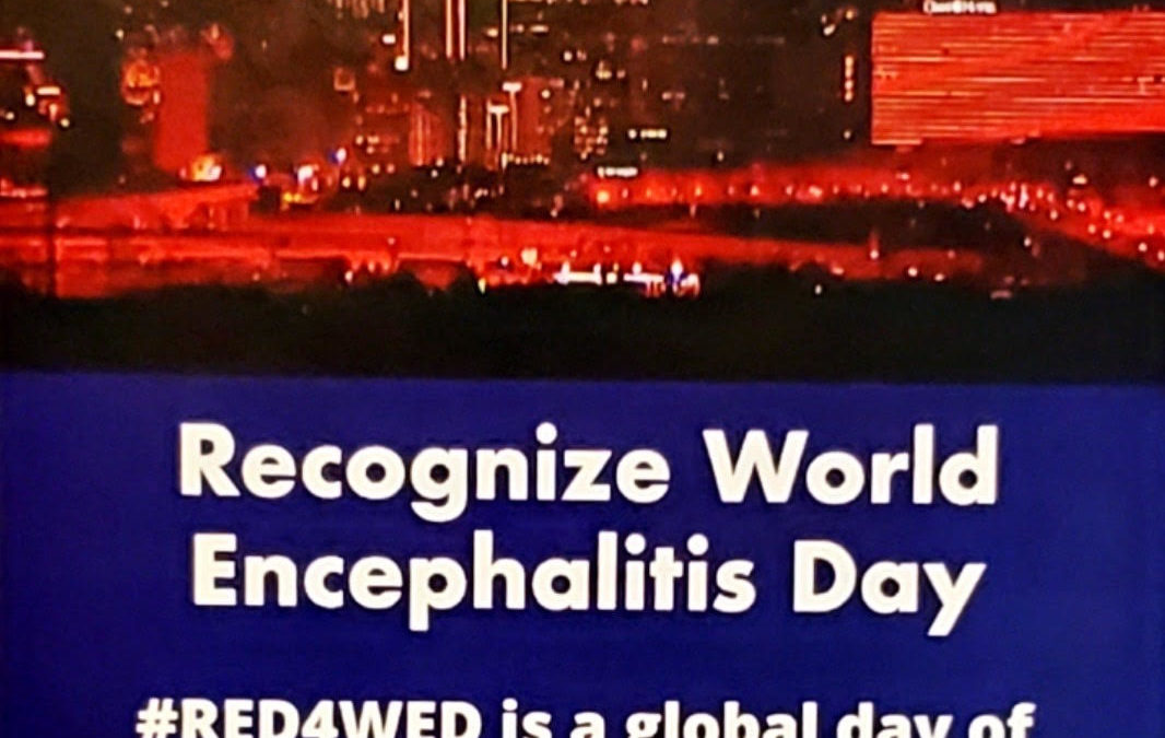 World Encephalitis Day and Chris Maxwell by Dr. Hal Pineless